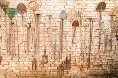 Alte Gartenhilfsmittel Lizenzfreies Stockbild