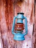 Alte Gas-Lampe Stockbild