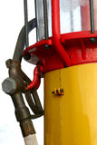 Alte Gas-Pumpe Lizenzfreie Stockbilder