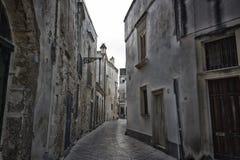 Alte Gasse in Lecce Lizenzfreies Stockbild