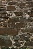 Alte gealterte Backsteinmauer Stockbild