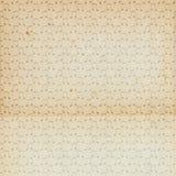Alte gealterte Weinleseantike-Papiermusik beachtet Muster Stockfoto