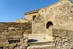 Alte Gebäude des Jahrhunderts XV lizenzfreies stockbild
