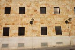 Alte Gebäude-Fassade Lizenzfreie Stockfotos