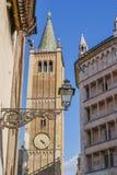 Alte Gebäude in Parma Stockfotografie