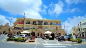 Alte Gebäude in Rabat, Malta stock video footage