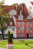 Alte Gebäude in Riga. Lettland lizenzfreie stockfotografie