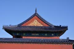 Alte Gebäude in Tiantan Lizenzfreies Stockbild
