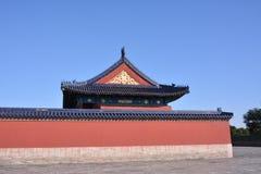 Alte Gebäude in Tiantan Lizenzfreie Stockfotografie