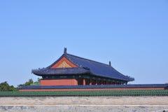 Alte Gebäude in Tiantan Stockfoto