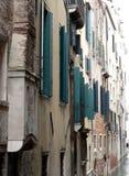 Alte Gebäude in Venedig stockfoto