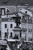 Alte Gebäude in Venedig, Italien stockbild