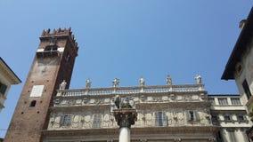 Alte Gebäude, Verona stockfotos