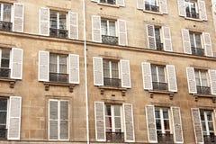 Alte Gebäude-Wand Stockfotos