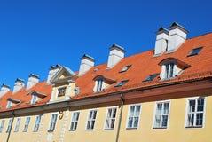 Alte Gebäudefassade Stockfotografie
