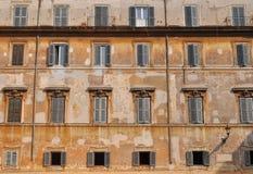 Alte Gebäudefassade Lizenzfreie Stockbilder