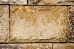 Alte Gebäudewände des Steins blockt Hintergrund Lizenzfreies Stockfoto