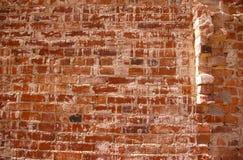 Alte Gebäudewand des roten Backsteins Lizenzfreie Stockfotografie