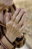Alte Gebete Lizenzfreies Stockbild