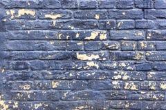 Alte gebrochene Backsteinmauerbeschaffenheit Stockbild