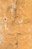 Alte gebrochene Betonmauer als Hintergrund Stockfotografie