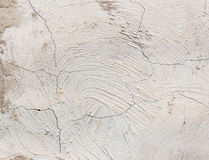 Alte gebrochene Betonmauer als Hintergrund Stockbild