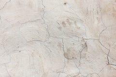 Alte gebrochene Betonmauer als Hintergrund Stockfotos