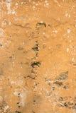 Alte gebrochene Betonmauer als Hintergrund Stockfoto