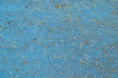 Alte gebrochene blaue Farbe Stockfotos