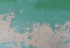 Alte gebrochene Farbe auf der Betonmauer Stockfotografie