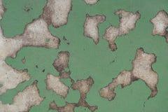 Alte gebrochene Farbe auf der Betonmauer, abstrakte Sprungsfarbenwand Lizenzfreie Stockbilder