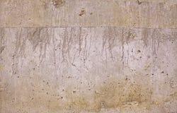Alte gebrochene konkrete Zementwand stockbilder