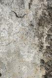 Alte gebrochene und schmutzige Betonmauer Lizenzfreie Stockfotos