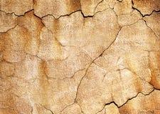 Alte gebrochene Wand Lizenzfreie Stockfotografie
