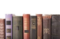 Alte gebundene Bücher Stockfotos