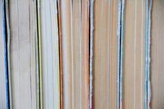 Alte gebundene Bücher des Stapels Lizenzfreie Stockbilder