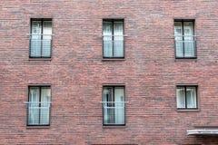 Alte Gefängniswand Stockfotografie