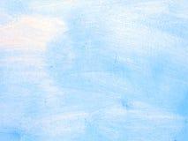 Alte gelöschte blaue Wandbeschaffenheit Lizenzfreie Stockbilder
