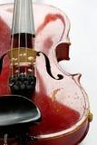 Alte gelöschte Violine Lizenzfreie Stockbilder