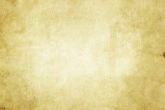 Alte gelb gefärbte Papierbeschaffenheit Lizenzfreie Stockfotos