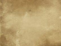 Alte gelb gefärbte und befleckte Papierbeschaffenheit Lizenzfreie Stockbilder