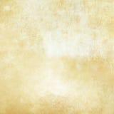 Alte gelb gefärbte und befleckte Papierbeschaffenheit Stockfotografie