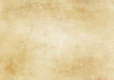 Alte gelb gefärbte und befleckte Papierbeschaffenheit Lizenzfreie Stockfotos