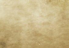 Alte gelb gefärbte und befleckte Papierbeschaffenheit Stockfoto