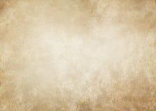 Alte gelb gefärbte und beschmutzte Papierbeschaffenheit Lizenzfreies Stockbild