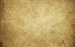 Alte gelb gefärbte und schmutzige Papierbeschaffenheit Lizenzfreie Stockfotos