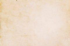 Alte gelbe Papierbeschaffenheit Stockbilder