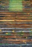 Alte gemalte abgezogene weg dunkelbraune hölzerne Planken masern Hintergrundhintergrund lizenzfreies stockbild