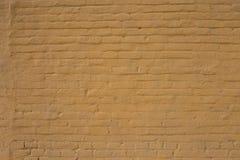 Alte gemalte Backsteinmauer Lizenzfreie Stockbilder