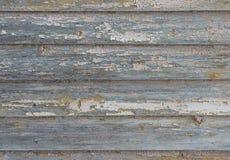Alte gemalte beige hölzerne Wandbeschaffenheit Stockbilder